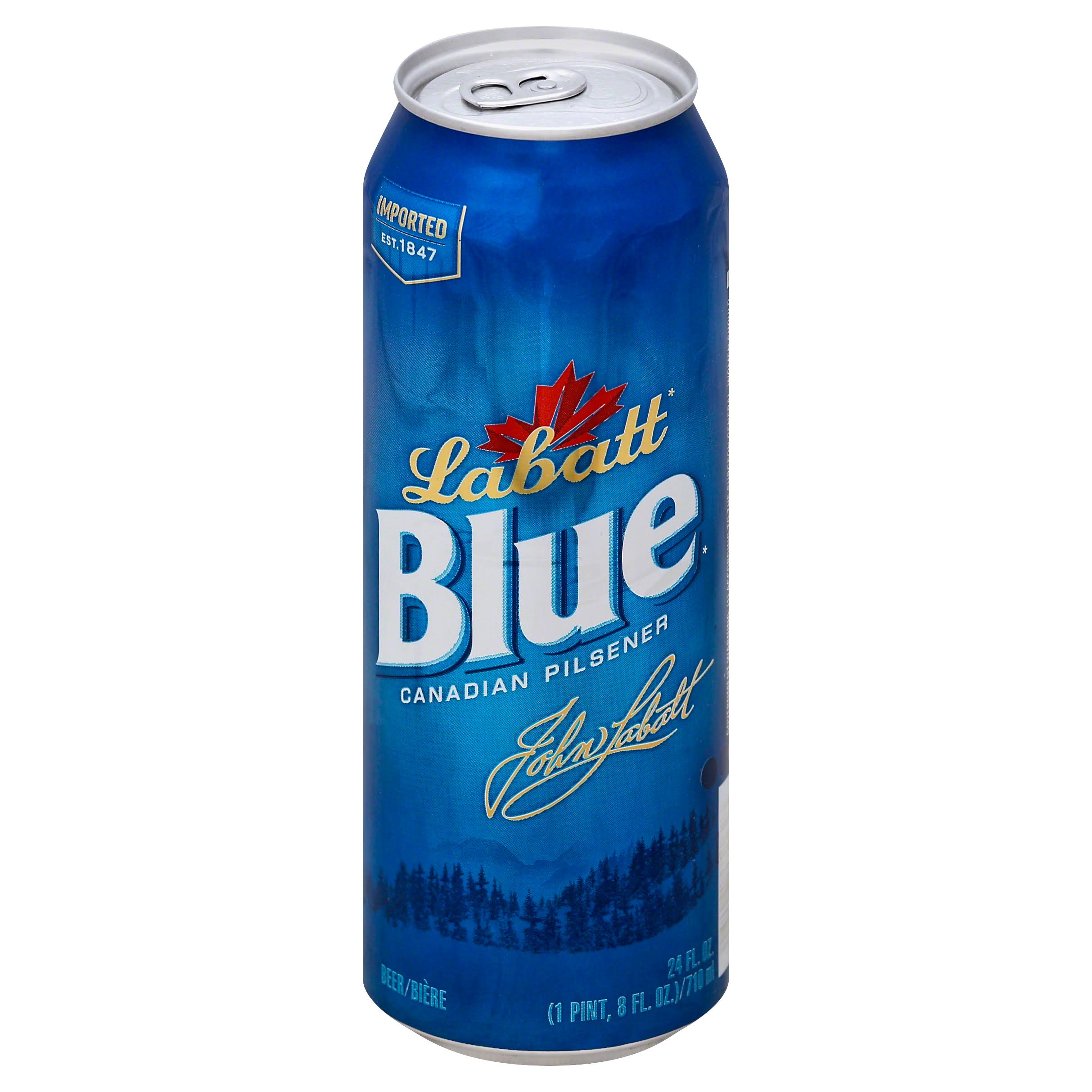 Labatt Blue Beer Canadian Pilsner