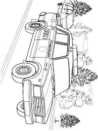 Police Car Coloring Pages Download And Print Police Car Coloring