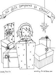 No Gift Compares To Jesus Coloring Sheet For Children