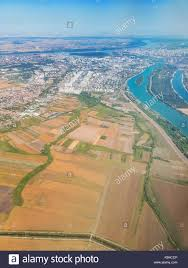 100 Birdview On Belgrade Serbia With Rivers Sava And Danube On A