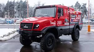 100 Dakar Truck RallyRaid Network MAZ Presented A New Truck For The Rally