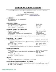 Good Resume Examples New Unique For Highschool Students Excellent Resumes 0d High Of