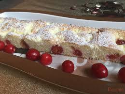 ungarischer quark kirsch kuchen