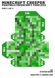 Minecraft Sword Pumpkin Carving Patterns by Making A Large Creeper Using Papercraft 4 Steps