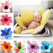Infant Bath Seat Canada by 2017 Infant Baby Bath Mat 80cm Cute Flower Shape Blooming Super