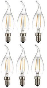lohas led candelabra bulb dimmable 60 watt light bulbs equivalent