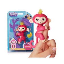 Image Is Loading Fingerlings Monkey Interactive Finger Baby Toy Gift
