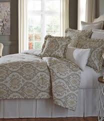 Dillards Southern Living Christmas Decorations by Taupe Southern Living Almira Medallion Comforter Mini Set