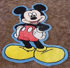 Mickey Mouse Kitchen Rug