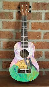 Eddie Vedder No Ceiling Ukulele Chords by 30 Best My Ukulele Art Images On Pinterest Ukulele Art Painted