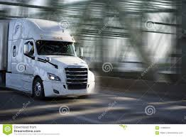 100 Big Truck Chrome White Rig Semi With Grille Transporting Goods I