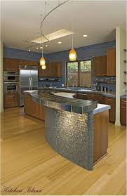 Floating Island Kitchen Cabinet Beautiful Srectangular Wooden Stools Storage Ideas Small
