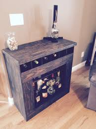 Locking Liquor Cabinet Canada by Liquor Cabinet Made Completely Out Of Pallet Wood Macwood