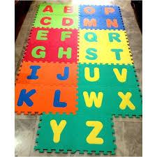 MYBABY 26 pcs Soft EVA Foam Baby Children Kids Play Mat Alphabet