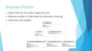 Decorator Pattern Java Io by A Portable U0026 Intelligence Interview System Ppt Video Online Download
