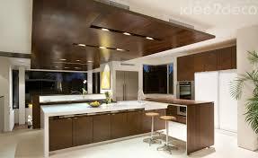 cuisine bois et de grande cuisine bois et blanc cassé