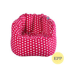 Chilla Fabric Bean Bag Chair (Pink With Polka Dots, EPP Beans ... Durable Bean Bags Foam Sack Chair Nice Bag Chairs Comfy Kids Cover Only Electric Blue Stain 6 Foot Top 10 Best Of 2018 Review Fniture Reviews Jordan Manufacturing Company Classic Jumbo Navy Patio Majestic Home Goods Sofa Soft Comfortable Lounge Memory Round Loft Concepts Jack And Jil Wayfair Childrens Factory The 7 2019