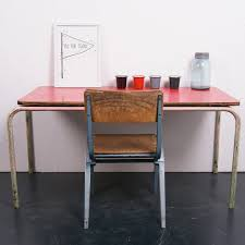 100 Red Formica Table And Chairs Childrens Pedlars