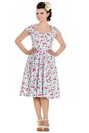 Retro Cherry Halter Dress