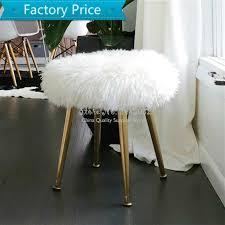 nordic moderne rosa dressing hocker sofa wolle hocker mit edelstahl gold bein schlafzimmer ändern schuh bank strand machen up stuhl