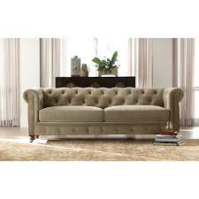 Gordon Tufted Sofa Home Depot by Gordon Tufted Sofa Furniture Home Furniture With Leather