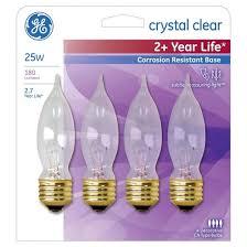 ge 25 watt incandescent chandelier light bulb 4