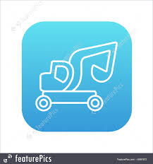 Excavator Truck Line Icon. Stock Illustration I4897672 At FeaturePics Delivery Truck Icon Flat Icons Creative Market Dump Truck Flat Icon Royalty Free Vector Image Cargo And Clock Excavator Line Stock Illustration I4897672 At Featurepics 19 Svg Huge Freebie Download For Werpoint Red Glossy Round Button Meble Lusia Silhouette Simple Semi Trailer Black Monochrome Style Shopatcloth Icons Restored 1965 Ford F250 Is The You Wish Had Youtube Ttruck Icontruck Vector Transport Icstransportation Forklift