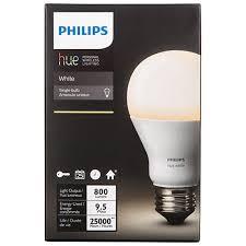 philips hue a19 smart led light bulb white smart lights best