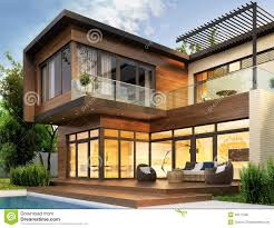 100 Home Design Interior And Exterior Modern House Stock Image Image Of Architecture Interior 46517595