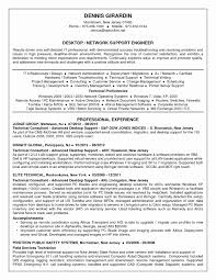 13 Fresh Sample Resume For Hardware And Networking Technical Support Format