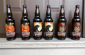 Elysian Night Owl Pumpkin Ale by Happy Halloween Beerthirst Distributor Of Fine Crafted Beer