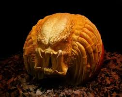 Puking Pumpkin Pattern by Decoration Ideas Fascinating Monster Scary Pumpkin Eating Another