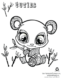 Cute Baby Unicorn Coloring Pages New Animals To Tiny Page Gallery