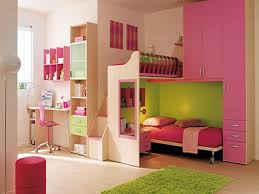 bedroom space saving solutions with cool bunk beds for teenager