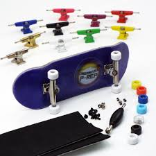 P-REP NOLO 34mm Purple Complete Wooden Fingerboard - Pick Trucks And ...