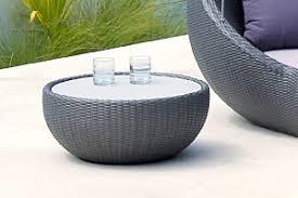Outdoor Circle Side Coffee Table Lebello Patio Furniture