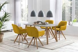 esszimmer essgruppe 5 tlg weiß gelb günstig möbel küchen büromöbel kaufen froschkönig24