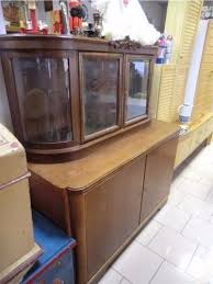 1 kommode vitrine schrank anrichte antik deco