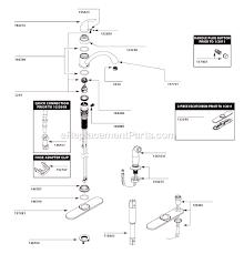 Moen Chateau Kitchen Faucet by Moen Ca87480 Parts List And Diagram Ereplacementparts Com