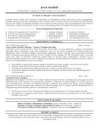 Sample Construction Manager Resume Project Management Resumes Samples Electrical