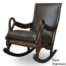 Dark Brown Rocking Chair.html Spark Fniture Kloris Tobacco Rocking Chair Cambridge Casual Alston Porch Cathleen Outdoor Luca Linen Me And My Trend Knoll Intertional Barcelona Relax Antique White Painted Wooden Rocking Chair In Corner Of Corda Patio Chairs Vola Glider Fjord Rar Eames Design Brown