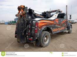100 Used Tow Trucks A Heavyduty Tow Truck Editorial Stock Photo Image Of