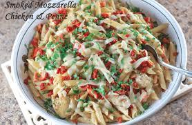 Olive Garden Copycat Recipes Smoked Mozzarella Chicken and Penne