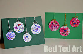 Homemade Christmas Card Ideas Toddlers