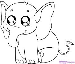 Cute Baby Animal Drawings Step By