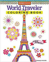 World Traveler Coloring Book 30 Heritage Sites Design Originals Thaneeya McArdle
