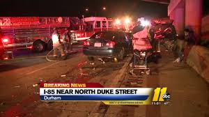 Car, SUV Involved In Rear-end Crash On I-85 In Durham | Abc11.com Durham Hino Truck Dealership Sales Service Parts Moving Rental Nc Best Image Kusaboshicom Police Id 29yearold Raleigh Man Killed In Motorcycle Crash Big Sky Rents Events Equipment Rentals And Party Serving Cary Nc Bull City Street Food Raleighdurham Trucks Roaming Hunger Truck Rv Hit The 11foot8 Bridge Youtube Burger 21 Lots Durham Nc Minneapolis Restaurants 11foot8 Bridge Close Shave Compilation The Joys Of Watching A Tops Off Wsj