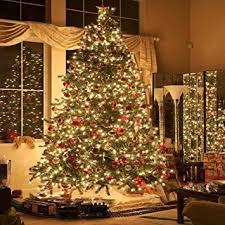 Christmas Tree Amazon Prime by Amazon Com Gladsbuy Christmas Tree 10 U0027 X 10 U0027 Computer Printed