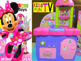 Dora The Explorer Kitchen Set India by Minnie Mouse Clubhouse Kitchen Playset Toy Review Youtube