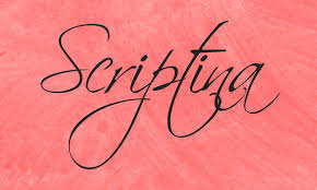 Scriptina Font Family Free Download